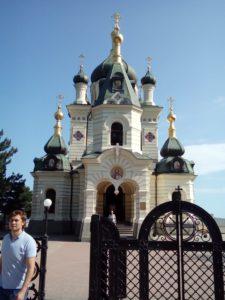 28 июня группа паломников посетила Свято-Георгиевский монастырь на мысе Фиолент