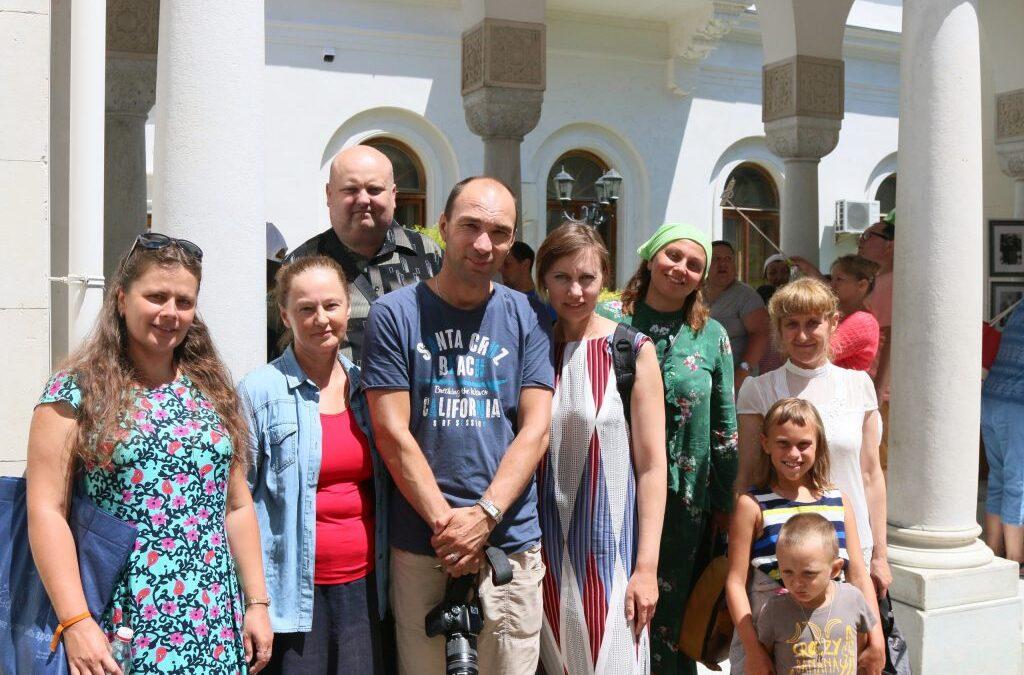 День памяти Царственных Страстотерпцев в Ливадии, домовом храме семьи Романовых.