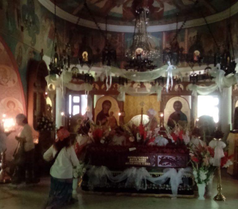 11 июля День Памяти игумени Топловской Параскевы.